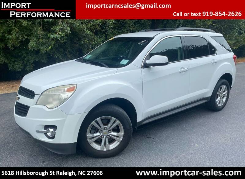 2011 Chevrolet Equinox for sale at Import Performance Sales in Raleigh NC
