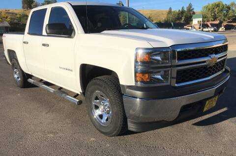 2015 Chevrolet Silverado 1500 for sale at Central City Auto West in Lewistown MT