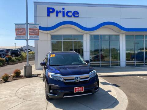 2022 Honda Pilot for sale at Price Honda in McMinnville in Mcminnville OR