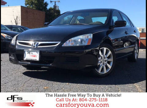 2007 Honda Accord for sale at DFS Auto Group of Richmond in Richmond VA