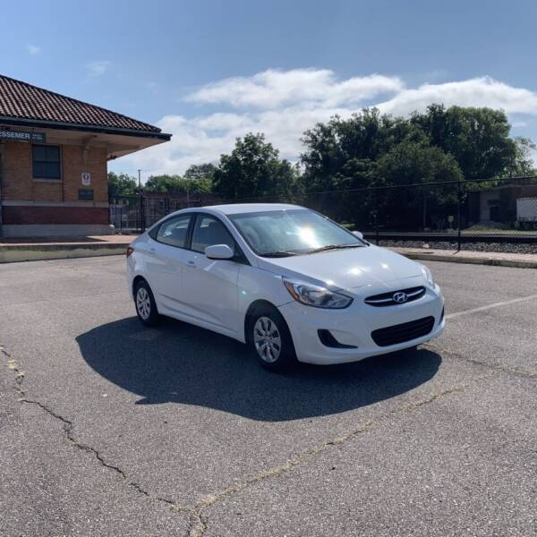 2016 Hyundai Accent for sale at FIRST CLASS AUTO SALES in Bessemer AL