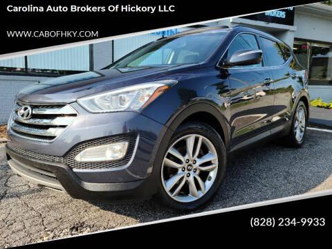 2014 Hyundai Santa Fe Sport for sale at Carolina Auto Brokers of Hickory LLC in Newton NC