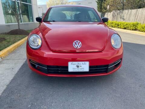 2015 Volkswagen Beetle for sale at Super Bee Auto in Chantilly VA
