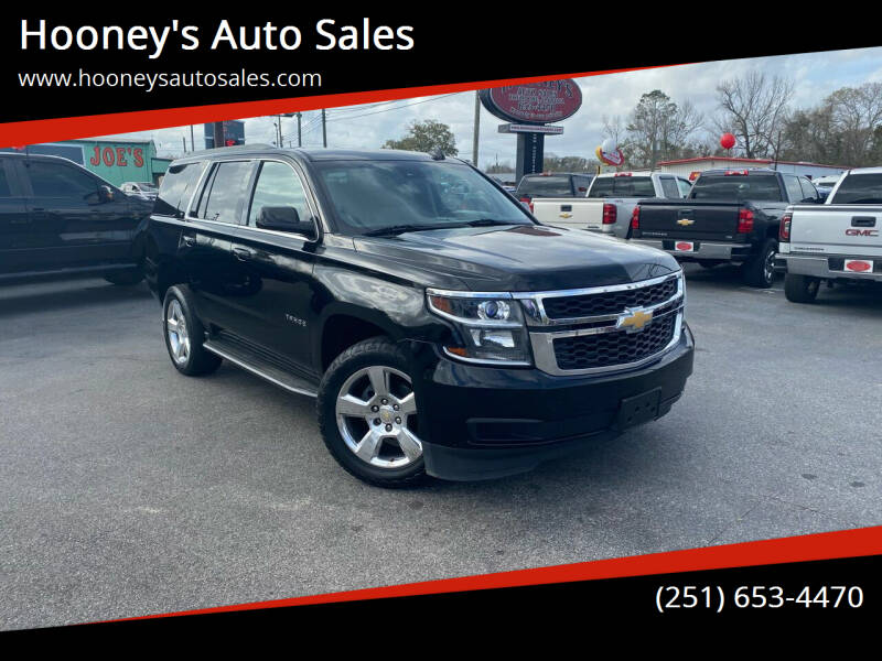 2015 Chevrolet Tahoe for sale at Hooney's Auto Sales in Theodore AL