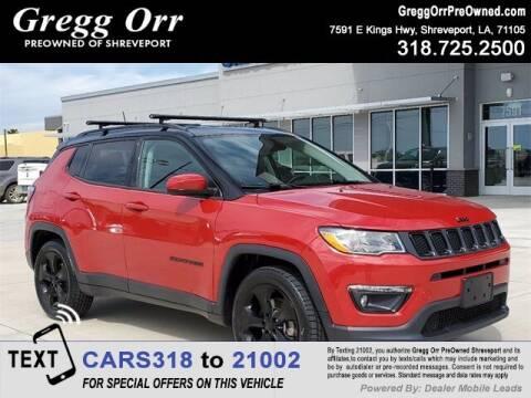 2019 Jeep Compass for sale at Gregg Orr Pre-Owned Shreveport in Shreveport LA