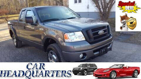2007 Ford F-150 for sale at CAR  HEADQUARTERS in New Windsor NY