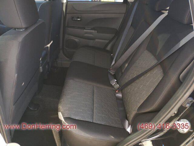 2021 Mitsubishi Outlander Sport BLACK - Plano TX