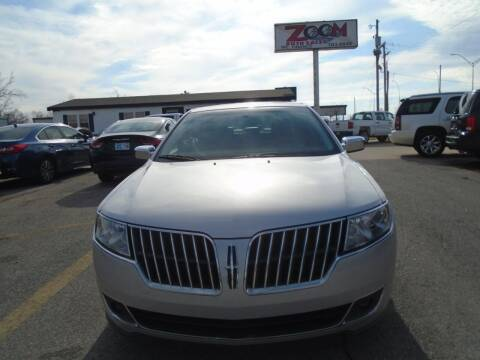 2010 Lincoln MKZ for sale at Zoom Auto Sales in Oklahoma City OK