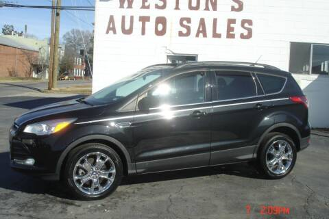 2014 Ford Escape for sale at Weston's Auto Sales, Inc in Crewe VA