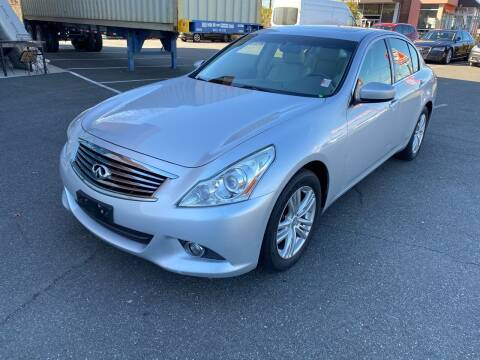 2013 Infiniti G37 Sedan for sale at MAGIC AUTO SALES in Little Ferry NJ