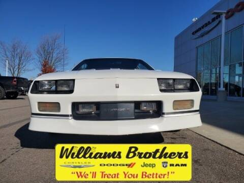 1989 Chevrolet Camaro for sale at Williams Brothers - Pre-Owned Monroe in Monroe MI