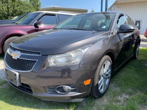 2014 Chevrolet Cruze for sale at Lumpy's Auto Sales in Oklahoma City OK