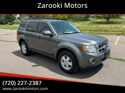 2009 Ford Escape for sale at Zarooki Motors in Englewood CO