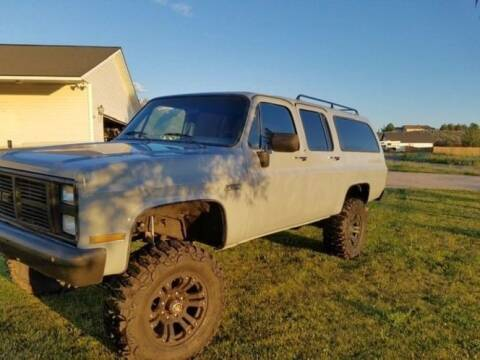 1988 GMC Suburban for sale at Classic Car Deals in Cadillac MI
