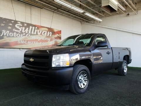 2010 Chevrolet Silverado 1500 for sale at SULLIVAN MOTOR COMPANY INC. in Mesa AZ