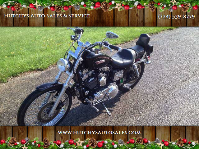 1998 Harley-Davidson 1200 SPORTSTER for sale at Hutchys Auto Sales & Service in Loyalhanna PA