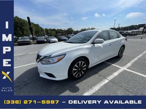 2018 Nissan Altima for sale at Impex Auto Sales in Greensboro NC
