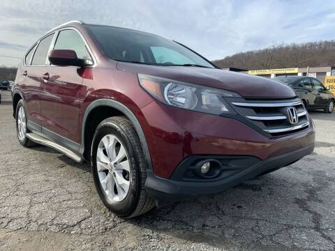 2013 Honda CR-V for sale at Ron Motor Inc. in Wantage NJ