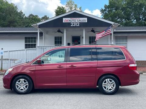 2006 Honda Odyssey for sale at CVC AUTO SALES in Durham NC