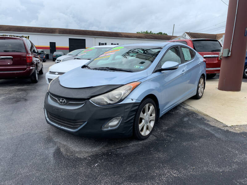 2012 Hyundai Elantra for sale at Credit Connection Auto Sales Dover in Dover PA