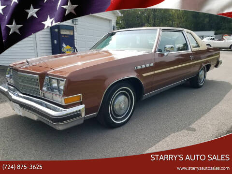 1978 Buick Electra for sale at STARRY'S AUTO SALES in New Alexandria PA