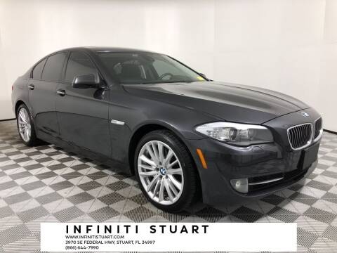 2011 BMW 5 Series for sale at Infiniti Stuart in Stuart FL