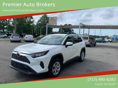 2019 Toyota RAV4 for sale at Premier Auto Brokers in Virginia Beach VA