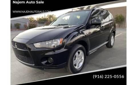 2010 Mitsubishi Outlander for sale at Najem Auto Sale in Sacramento CA