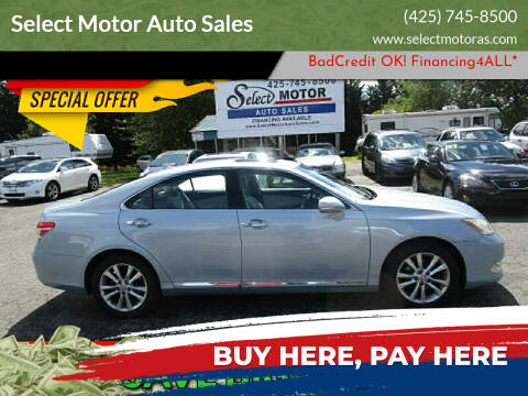 2011 Lexus ES 350 for sale at Select Motor Auto Sales in Lynnwood WA