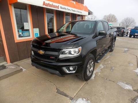 2016 Chevrolet Colorado for sale at Autoland in Cedar Rapids IA
