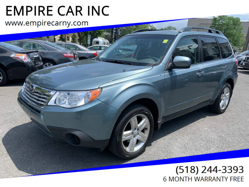 2009 Subaru Forester for sale at EMPIRE CAR INC in Troy NY