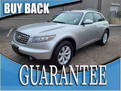 2003 Infiniti FX35 for sale at Reliable Auto Sales in Las Vegas NV