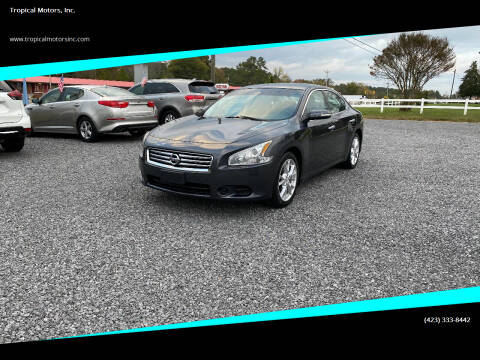 2013 Nissan Maxima for sale at Tropical Motors, Inc. in Riceville TN