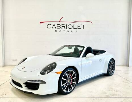 2015 Porsche 911 for sale at Cabriolet Motors in Morrisville NC