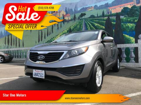 2011 Kia Sportage for sale at Star One Motors in Hayward CA