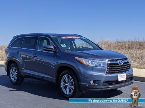 2015 Toyota Highlander for sale at Bob Walters Linton Motors in Linton IN