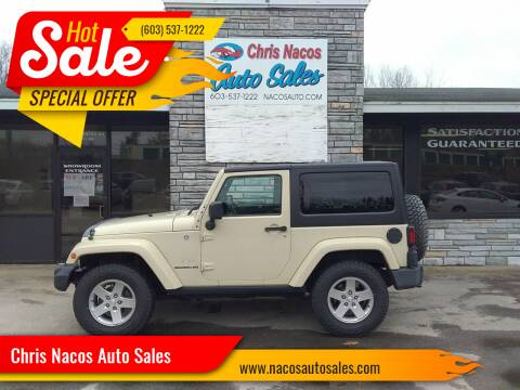 2011 Jeep Wrangler for sale at Chris Nacos Auto Sales in Derry NH
