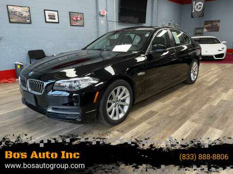 2014 BMW 5 Series for sale at Bos Auto Inc in Quincy MA
