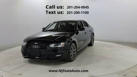 2016 Audi A4 for sale at NJ State Auto Used Cars in Jersey City NJ