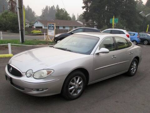 2007 Buick LaCrosse for sale at Yellow Line Motors in Lafayette OR