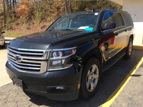 2016 Chevrolet Suburban for sale at Tim Harrold Auto Sales in Wilkesboro NC