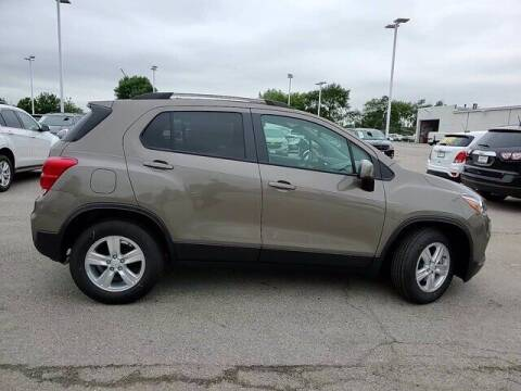 2021 Chevrolet Trax for sale at Hawk Chevrolet of Bridgeview in Bridgeview IL