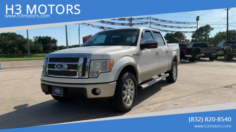 2009 Ford F-150 for sale at H3 MOTORS in Dickinson TX
