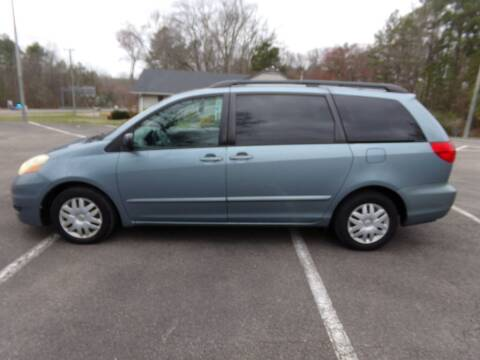 2006 Toyota Sienna for sale at West End Auto Sales LLC in Richmond VA