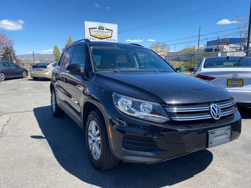 2016 Volkswagen Tiguan for sale at CarSmart Auto Group in Murray UT