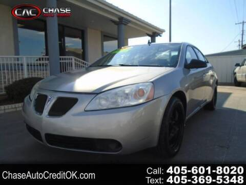 2008 Pontiac G6 for sale at Chase Auto Credit in Oklahoma City OK