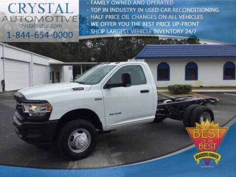 2019 RAM Ram Chassis 3500 for sale at Crystal Commercial Sales in Homosassa FL