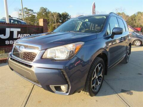 2014 Subaru Forester for sale at J T Auto Group in Sanford NC