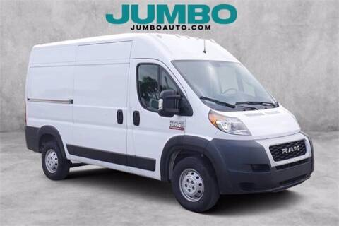 2020 RAM ProMaster Cargo for sale at Jumbo Auto & Truck Plaza in Hollywood FL