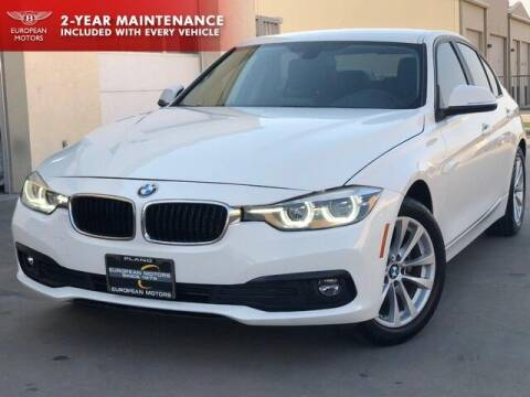 2018 BMW 3 Series for sale at European Motors Inc in Plano TX